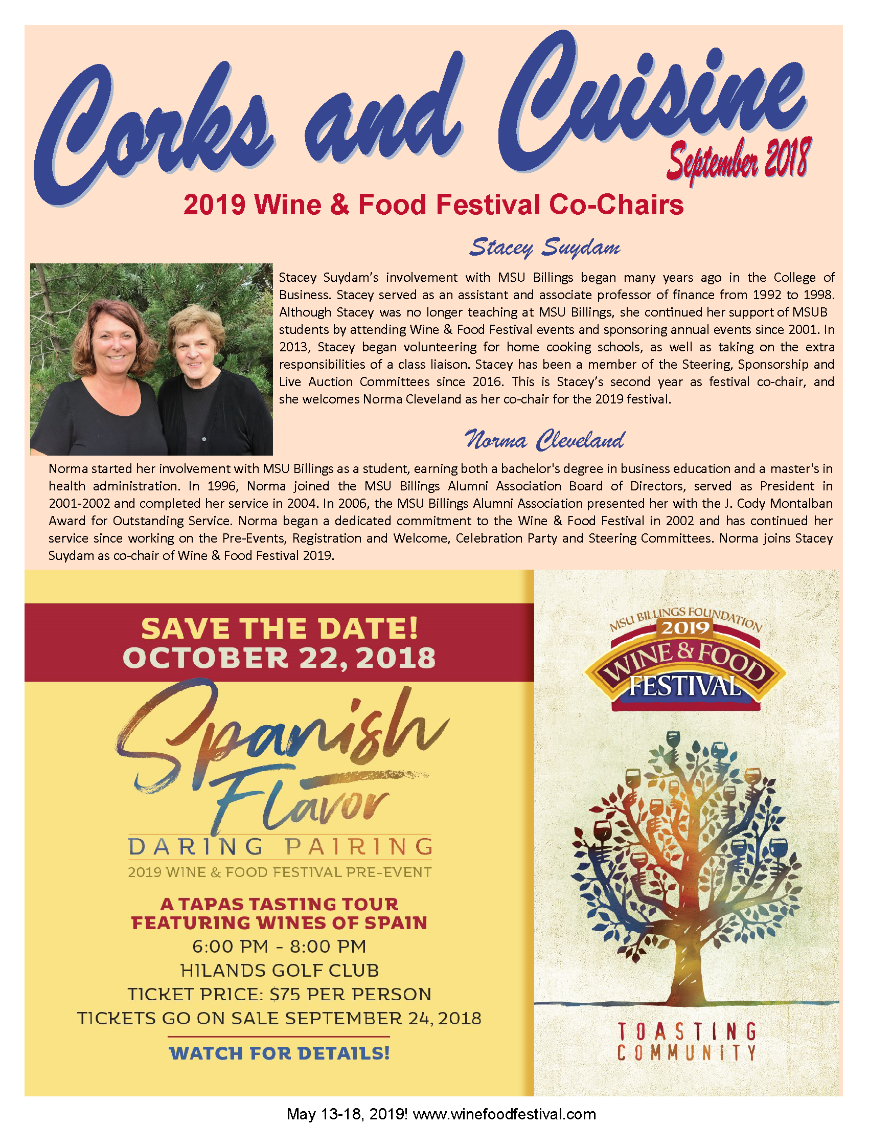 Corks and Cuisine Sept 18