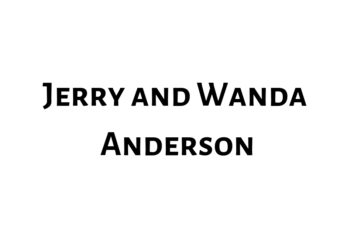 Jerry and Wanda Anderson